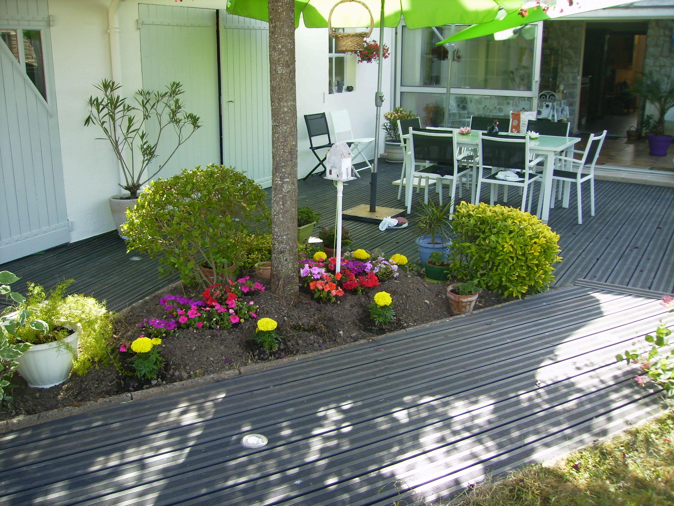 superbe terrasse en pin radiata sans noeud le blog de doug. Black Bedroom Furniture Sets. Home Design Ideas