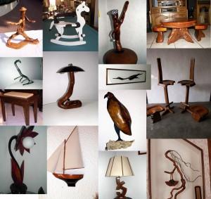 réalisations originales avec du bois