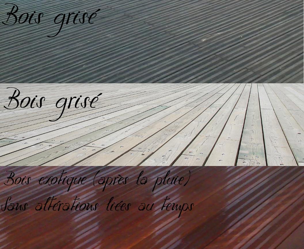 2éme étape pour entretenir sa terrasse en bois  le dégrisage