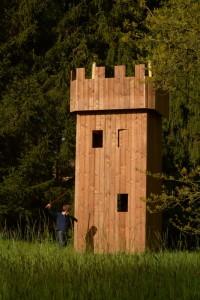 Tour médiévale sans toit