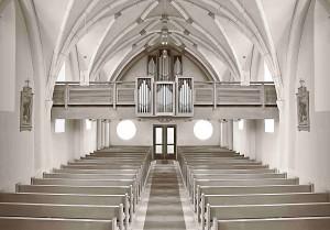 Église allemande vide
