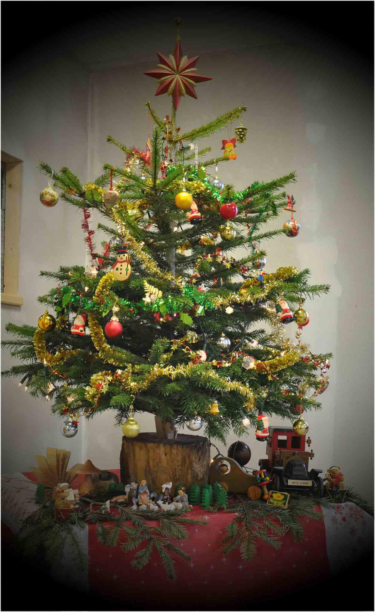 Sapin de Noël d'Eurodouglas en 2013