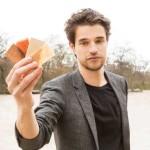 Timothée Boitouzet, créateur d'un bois translucide et plus résistant, jeune architecte français et l'un des fondateur de la start-up Woodoo