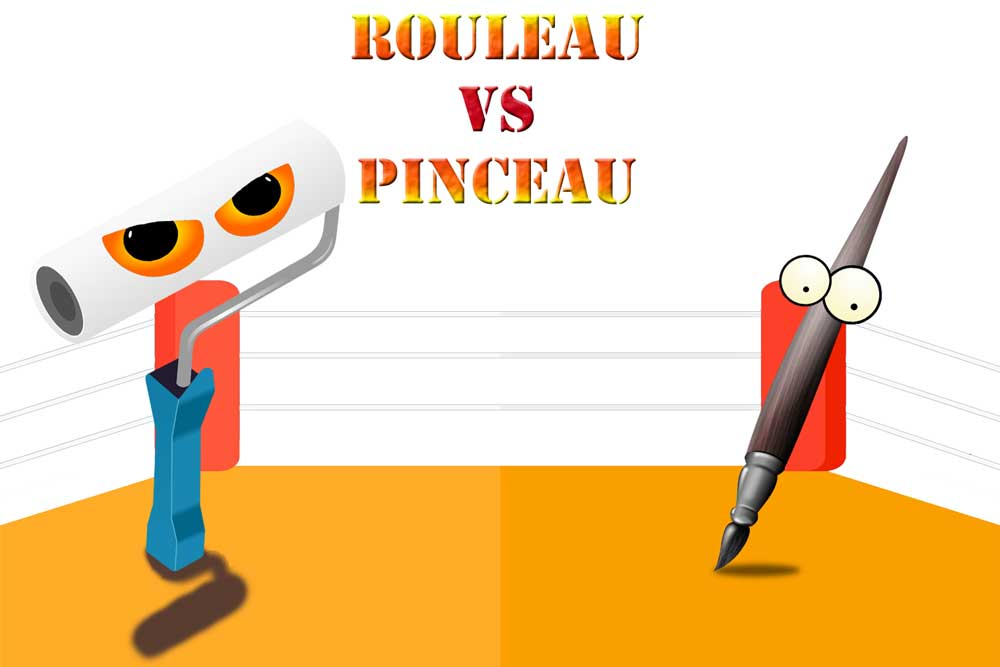 Pinceaux vs Rouleaux : Qui gagnera ?